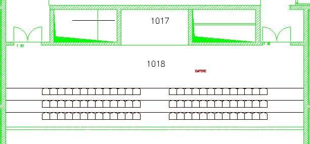 Sitzplan Empore HS 1 CZ